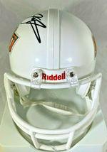 BARRY SANDERS / NFL HALL OF FAME / AUTOGRAPHED OSU LOGO MINI HELMET / SCHWARTZ image 4