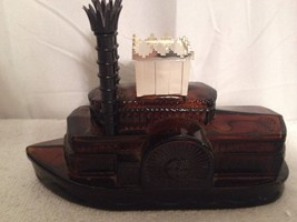 AVON Wild Country Brown Paddle Boat Aftershave Decanter/Bottle (Empty) - $6.80