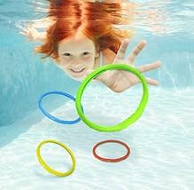 Aqua Classic Dive Rings, 6 Pack Diving Toys, Swimming Pool Toys Kids, Di... - $13.50