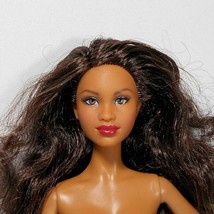 Mbili Face Model Muse AA Barbie Curly Brunette Hair - $34.64