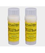 2 ~ The Naked Bee FOOT BALM Natural Restoration Orange Blossom Honey 2 o... - $21.27