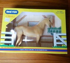 1998 No. 634 Palamino Warmblood Breyer Classics Horse In Original Opened... - $26.11