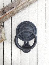 Mid Century Modern Door Knocker, Front Door Decor  - $21.00