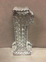 "Waterford Crystal Number One 1 Award Paperweight  5"" Tall cut glass signed - $74.24"