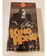 King Kong VHS 60th Anniversary Edition B&W The Collector's Edition NEW S... - $12.86