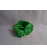 Fisher Price Little People Replacement Green Vehicle Trolley Cart - $1.56