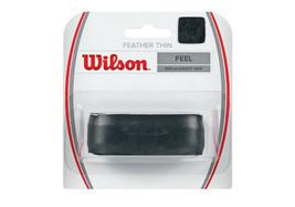 Wilson Feather Thin Tennis Grip Replacement Badminton Racket Grip WRZ4204BK - $14.48