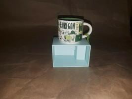 Starbucks Been There Oregon Series 2oz Espresso Mug Or Ornament 2019 Ope... - $18.37