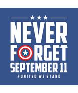 911   NEVER FORGET September 11 #United We Stand  3 x 3 Fridge Magnet  - $4.99