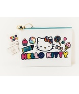 New with tag, Hello Kitty x Dylan's Candy Bar Exclusive White Cosmetic P... - $24.88