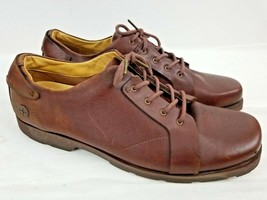 Dr. Martens Brown Leather Lace Up Oxford Men's Shoes Size 14 11566 - $41.22