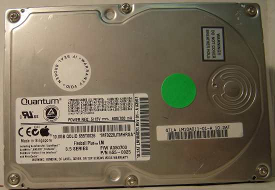 "10GB 3.5"" IDE Drive Quantum LM10A011 QMP10000LM-A Tested Good Free USA Shipping"