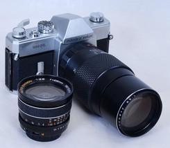 Mamiya Sekor 1000 DTL 35mm Vintage Film Camera f/2.8 28mm f/3.5 200mm M4... - $153.90