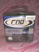RND Dock & Sync Cradle Station Black NEW - $16.82