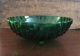 "Anchor Hocking Glass Corp Burple Green 8 1/2"" 3... - $25.00"