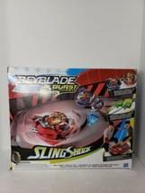 Beyblade Burst Turbo Slingshock Rail Rush Battle Set Toy Collectible  - $29.02