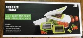 SHARPER IMAGE 4 In 1 Non-Slip CHOPPER - Chop Dice Slice Store - NEW Seal... - €10,41 EUR