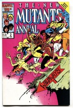 New Mutants Annual #2 First appearance of Psylocke - 1986 Key Issue!! VF/NM - £49.86 GBP