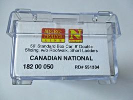 Micro-Trains #18200050 Canadian National 50' Standard Box Car N-Scale image 5