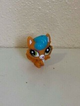 "Toy LPS Littlest Pet Shop Cat Orange Blue Hair 1.5"" #3789 - $3.96"