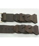 19mm rough genuine sports leather calf watch band braided sports Adventurer - $17.75