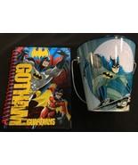 Gotham Guardians Blue Batman Tin Pail & Mini Notebook Set - $4.94