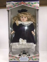 Victorian Collection Doll Genuine Porcelain 1997 17 Inch By Melissa Jane... - $42.37