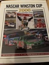 Very nice Nascar 2000 Winston Cup HTF Yearbook-Bobby Labonte Champion VGC - $9.90