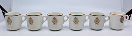 Maddock Terminal City Club LTD Vancouver BC 6 Demitasse Espresso Coffee ... - $119.01