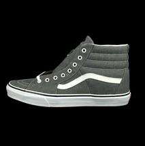 New Vans Sk8-Hi Size 13 Men Micro Herringbone Gray True White Skate Shoe - $59.45 CAD