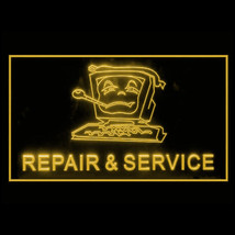 130026B Computer Repair and Service Virus Apps Display Accessible LED Light Sign - $18.00