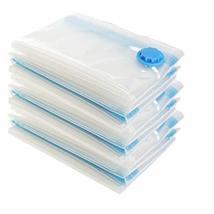 PANDA SUPERSTORE Transparent Set Of 3 Closet Storage Space Saver Bags,Vacuum Sto