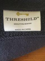 "Threshold Performance Blue Hand Towel- Navy Blue-  30""x54"" image 4"