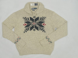 NEW! Polo Ralph Lauren Snowflake Design Sweater!  *Huge Snowflake on Front* - $99.99
