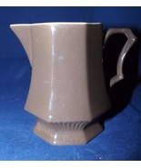 Independence Ironstone Interpace Made in Japan Octagon Brown Creamer - $12.34