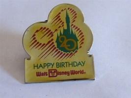 Disney Trading Pins 1045 WDW - Happy 20th Birthday (Gold) - $9.50
