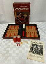 Game Of Kings Backgammon 3M Bookshelf Classic 1973 - $19.17