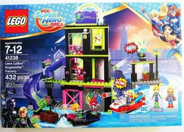 Lego Lena Luthor Kryptomite Factory 41238 Set 432 pcs NEW 2018 USA Super... - $89.00
