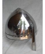 A Norman Nasal Helmet w/ Chin Strap, Knight Crusader Larp, Role Play Fan... - $60.00