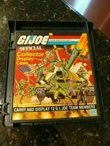 GI Joe 1982 ARAH Official Collector Display Case Hasbro WALL ART PARTS O... - $16.95