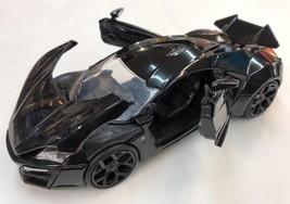 Lykan Hypersport Black Shine 1:24 Diecast Car - $23.75