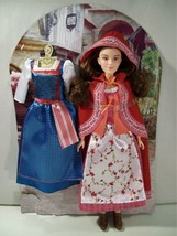 "NWOB DISNEY BEAUTY & THE BEAST MOVIE BELLE RED DRESS 11"" DOLL NEW LOOSE ... - $15.63"