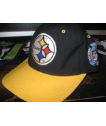 STEELERS FITTED HAT(6 7/8) EMBRIODED! - $9.99