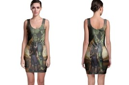 hulk painting art image Bodycon Dress - $21.99+