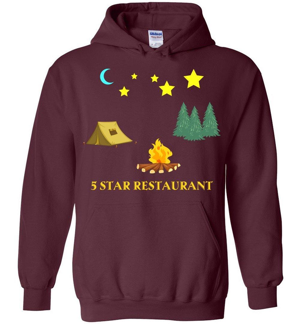 Five Star Restaurant Camp Blend Hoodie