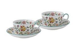 Minton Haddon Hall tea cup saucer pair HAD TCS2 (japan import) - $229.00