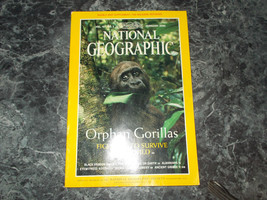 National Geographic Magazine February 2000 Orphan Gorillas - $2.99