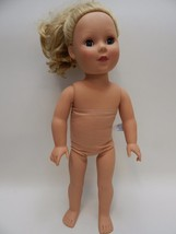 "Madame Alexander 18"" Long Blonde Doll Blue Eyes Curly Hair Pretty Girl 6... - $12.86"