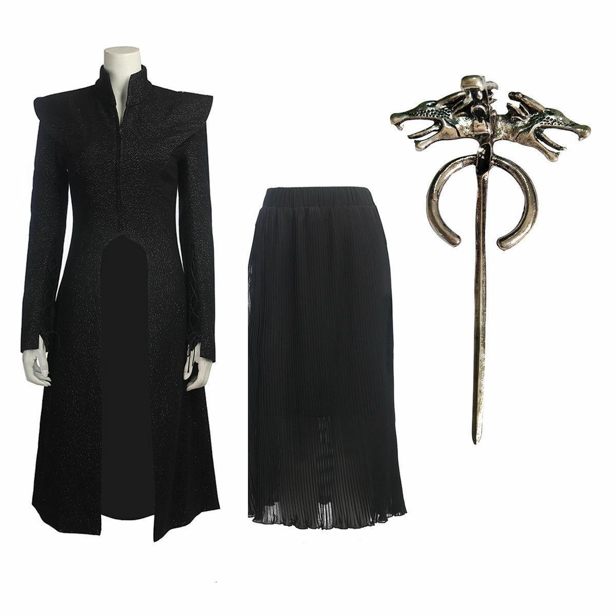 Daenerys Targaryen Mother of Dragons Cosplay Costume Game of Thrones Season 7 - $83.44