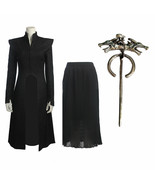 Daenerys Targaryen Mother of Dragons Cosplay Costume Game of Thrones Sea... - $83.44